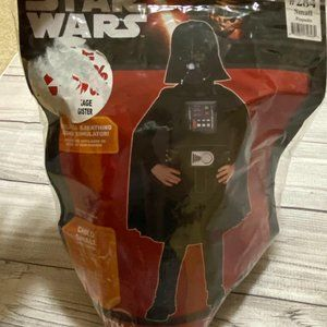 Darth Vadar Small Kids Halloween Costume